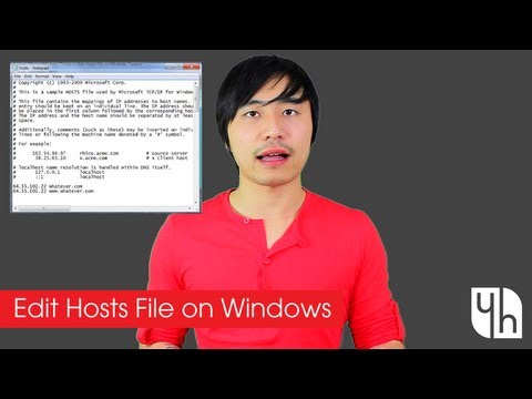 How To Edit Hosts File On Windows