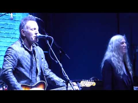 """Because The Night"" by Patti Smith and Bruce Springsteen at Tribeca Film Festival 2018"