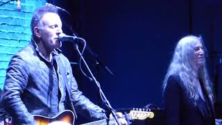 Because The Night By Patti Smith And Bruce Springsteen At Tribeca Film Festival 2018
