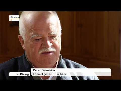 Im Dialog: Michael Hirz im Gespräch mit Peter Gauweiler