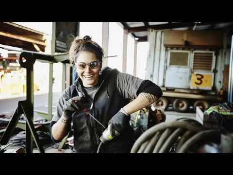 Lean In: Photographing female maritime engineers for the Lean In collection