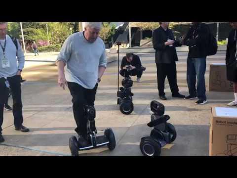 SEGWAY ROBOTICS:LOOMO – TechCrunch Sessions: Robotics + AI