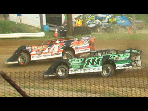 ULMS Super Late Model Heat Two | Genesee Speedway | 7-4-19