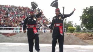 Wagah Border, Lahore