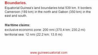 geography of equatoria guinea | guine ecuatorial