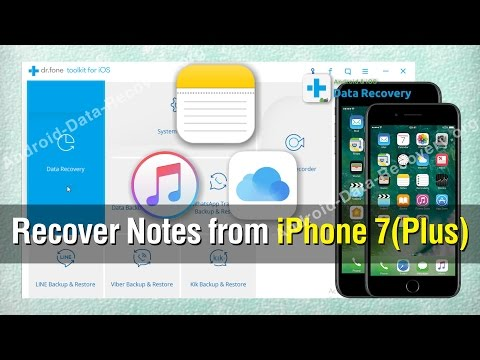How To Recover Notes From Iphone 77 Plus