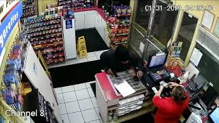 Shell Robbery Video from 1/31/2019