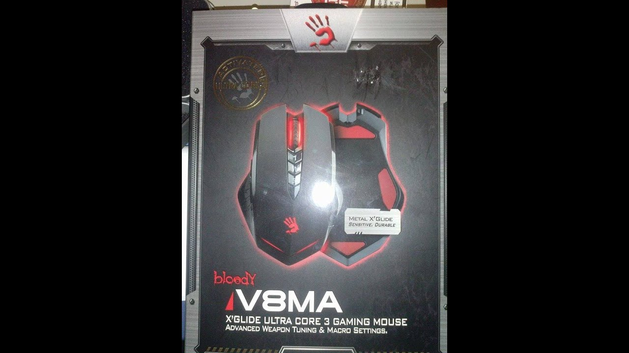 Mouse A4tech Bloody V8ma 3 200 Dpi (ultra Core 3 Ativado)box
