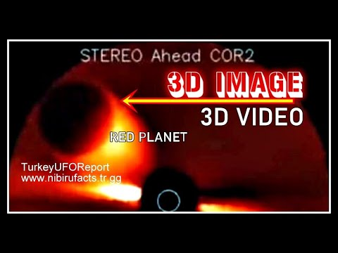 3D VIDEO*RED PLANET ON THE SOHO'S CAMERA*SEPTEMBER2020