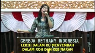 LEBIH DALAM KU MENYEMBAH | Rachel Mutiara | LAGU ROHANI KRISTEN - Musik Gereja