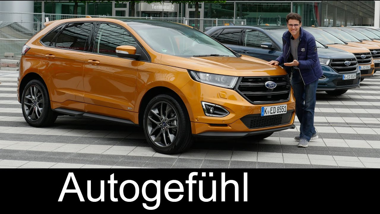 Ford Edge Sport Full Review Test Driven All New Neu Titanium Comparison   Youtube