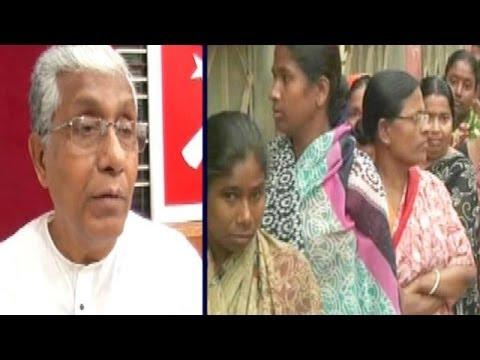 The Three way Battle in Tripura
