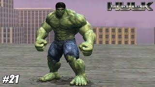 The Incredible Hulk - Wii Playthrough Gameplay 1080p (DOLPHIN) PART 21