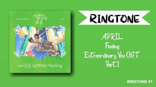 Ringtone] april– feeling (extraordinary ...