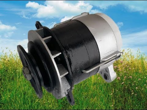 Проверка исправности  тракторного генератора