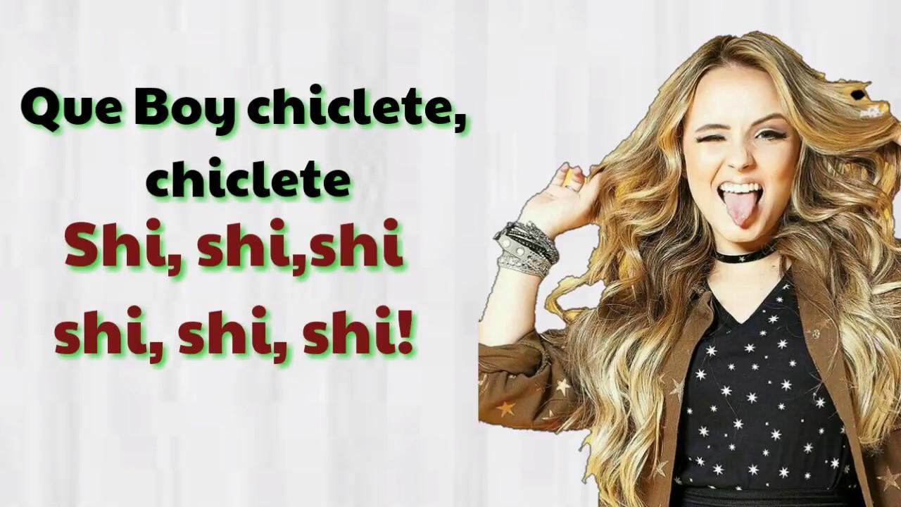 12c30e127ef96 Nova música da Larissa Manoela - Boy chiclete (com letra) - YouTube