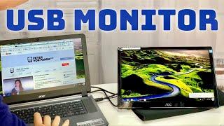 AOC 16 Portable USB LED Monitor Review
