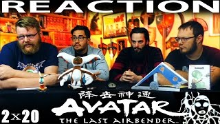 "Avatar: The Last Airbender 2x20 SEASON FINALE REACTION!! ""The Crossroads of Destiny"""