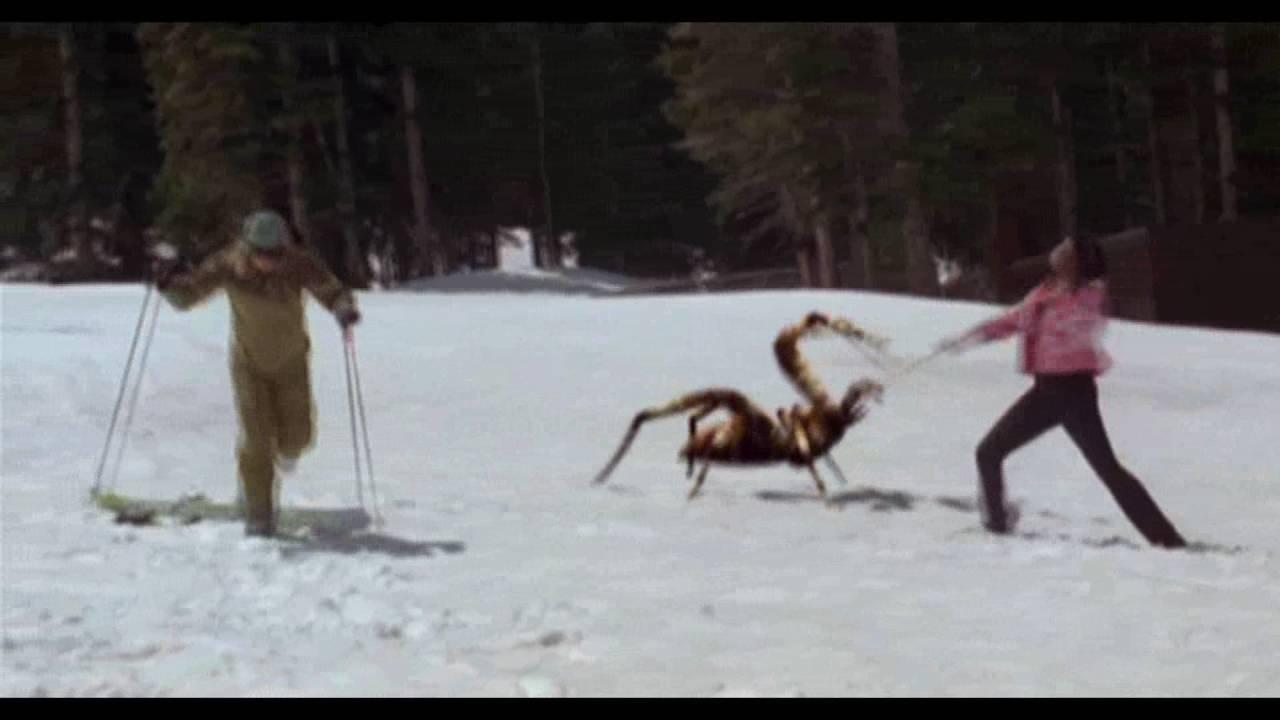 пауки напали на лыжную базу