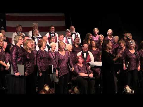Northern Michigan Chorale sings White Christmas 2015