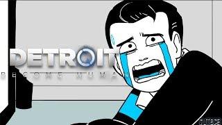 Connor gets deactivated | Detroit: Become Human Comic Dub