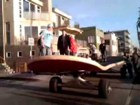 Giant Skateboard - Rob Dyrdek