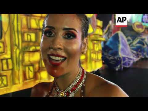 Thousands celebrate in Paraguay's colourful carnival