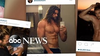 How This Man and His Man Bun Became a Social Media Celebrity