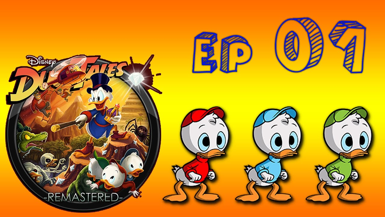 Ducktales remastered salviamo qui quo e qua youtube