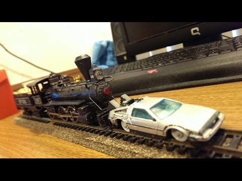 Back to the Future III Train models