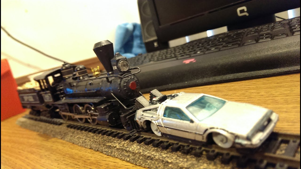 Back To The Future Iii Train Models Youtube