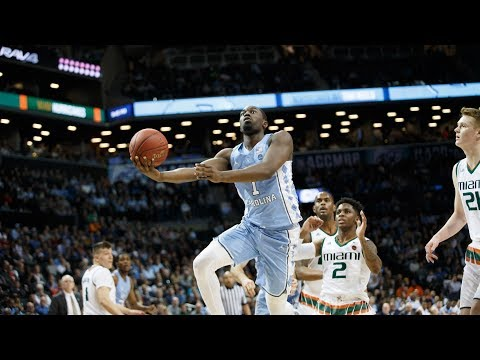 UNC Men's Basketball: Pinson Leads Tar Heels Past Hurricanes, 82-65
