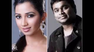 Great 10 Tamil Songs of Shreya Ghoshal with AR Rahman and Other Music Directors thumbnail