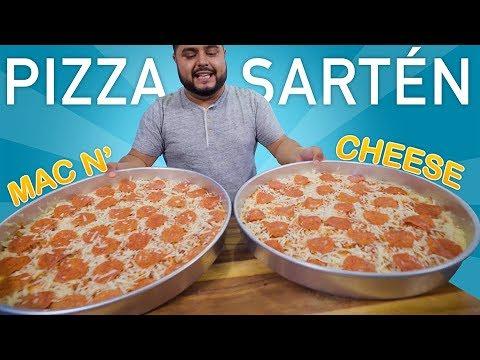 PIZZA de SARTÉN | MAC n CHEESE | EL GUZII