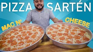 PIZZA de SARTÉN | MAC n CHEESE | EL GUZII