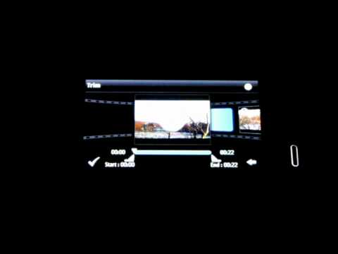 .:: Nokia N8 Video Editor short preview ::.