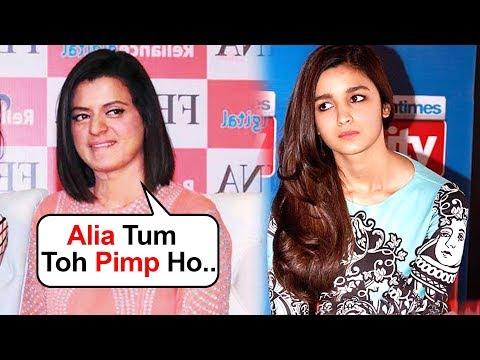 Kangana's Sister Rangoli Calls Alia Bhatt 'PIMP' For Gangubai Kathiawadi
