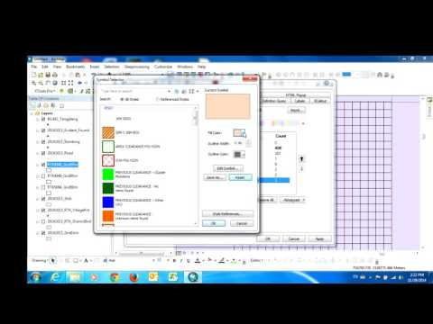 Update Information in Table Attribute and Make Polygon Area in ArcGIS