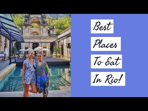 Top places to eat in Rio | Brazil Travel Vlog