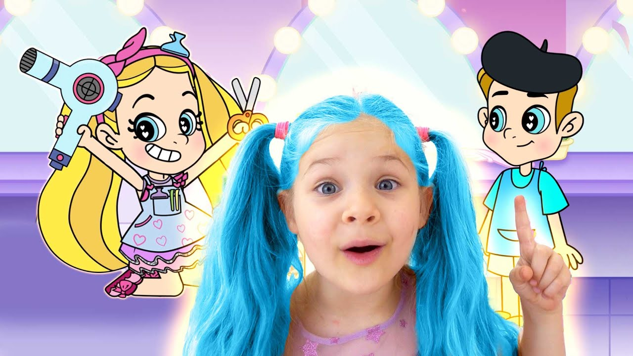 Diana and Roma Best Magical Makeover Cartoons
