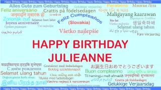 JulieAnne   Languages Idiomas - Happy Birthday
