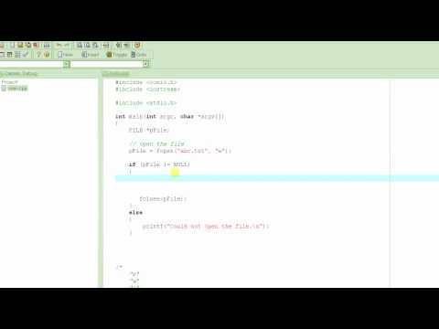 C Programming Tutorial # 39 - fprintf() - Writing to Files [HD]