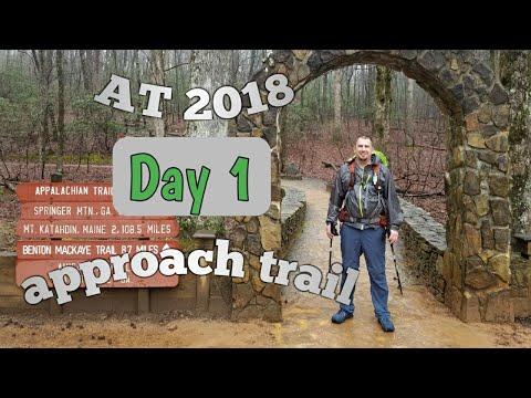 Appalatchian Trail Day , Approach Trail