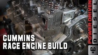 Cummins Race Engine Build | Power Driven Diesel