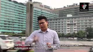 Eksperyment czystości powietrza w aglomeracjach miejskich.