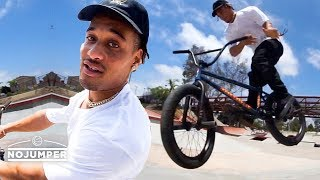 Chad Kerley: A Day In The Life of a Pro BMXer
