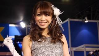 名古屋オートトレンド のセクシーなFLEXガールズさん 2013年3月2日-3日開催 ポートメッセなごや全館 ぜひチェンネル登録をお願いします!!