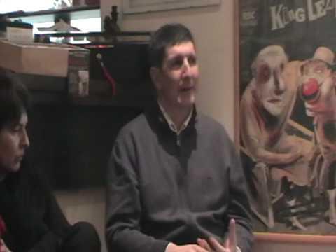 Ante Tomic i Maja Erceg o njegovoj najnovijoj knjizi, Bookcafe, Makarska 13.02.09. HQ