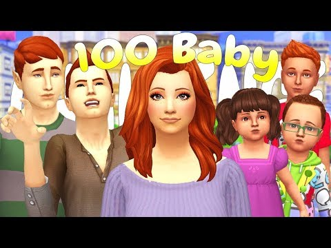 THIRSTY VAMPIRES!! 100 BABY CHALLENGE | (Part 84) The Sims 4: Let's Play thumbnail