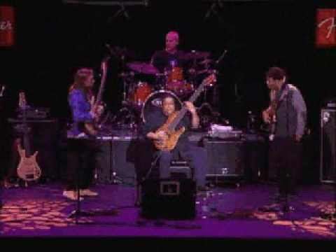 international solo bass competition 2005, feat. wooten, bailey, jackson, bissonette
